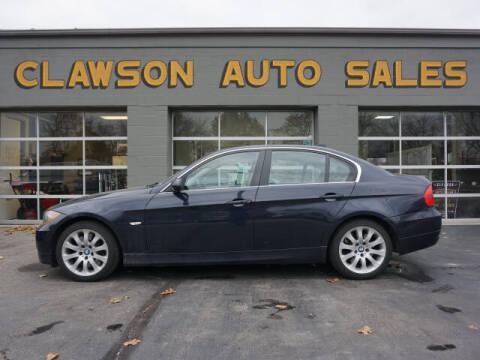 2007 BMW 3 Series for sale at Clawson Auto Sales in Clawson MI