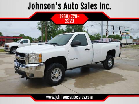 2007 Chevrolet Silverado 2500HD for sale at Johnson's Auto Sales Inc. in Decatur IN