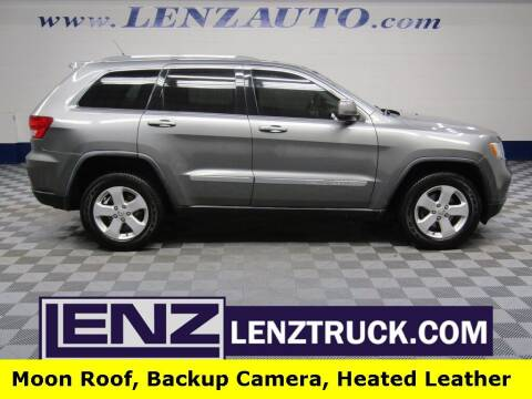 2011 Jeep Grand Cherokee for sale at LENZ TRUCK CENTER in Fond Du Lac WI