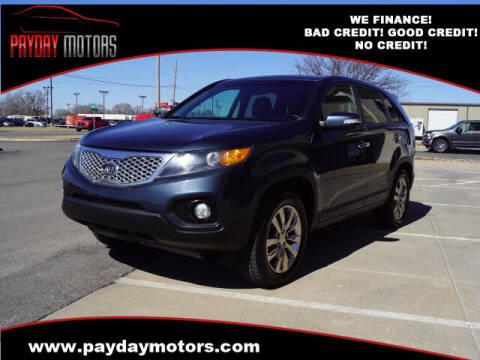 2011 Kia Sorento for sale at Payday Motors in Wichita And Topeka KS