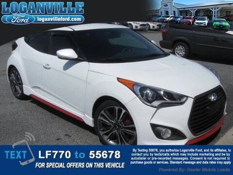 2016 Hyundai Veloster for sale at Loganville Quick Lane and Tire Center in Loganville GA