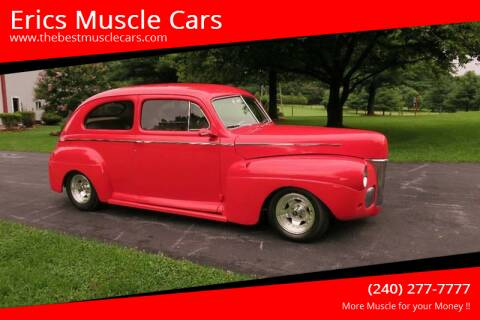 1941 Ford Super Deluxe for sale at Erics Muscle Cars in Clarksburg MD