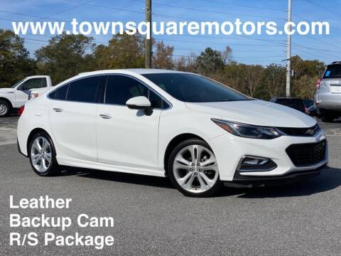 2016 Chevrolet Cruze for sale at Town Square Motors in Lawrenceville GA
