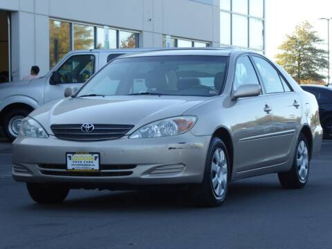 2003 Toyota Camry for sale at Loudoun Used Cars - LOUDOUN MOTOR CARS in Chantilly VA
