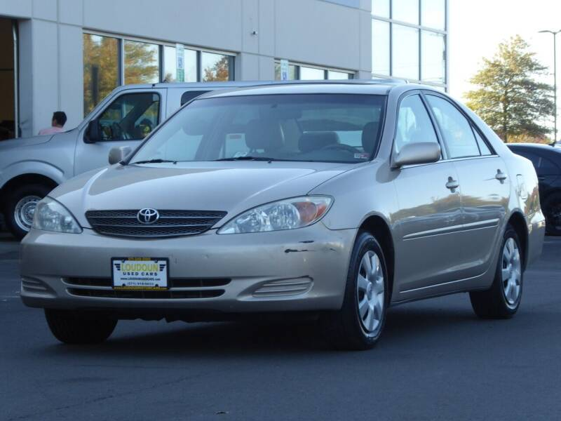 2003 Toyota Camry for sale at Loudoun Motor Cars in Chantilly VA
