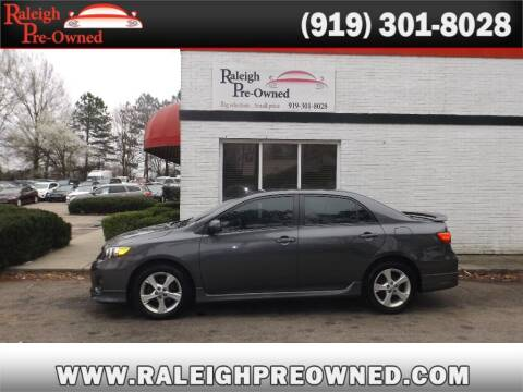 2013 Toyota Corolla for sale at Raleigh Pre-Owned in Raleigh NC