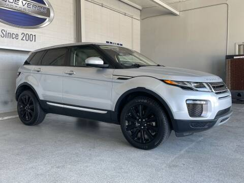 2016 Land Rover Range Rover Evoque for sale at TANQUE VERDE MOTORS in Tucson AZ
