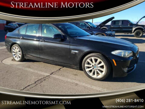 2012 BMW 5 Series for sale at Streamline Motors in Billings MT
