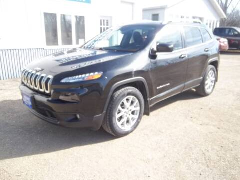 2015 Jeep Cherokee for sale at Wieser Auto INC in Wahpeton ND