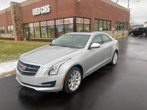2018 Cadillac ATS for sale at My Town Auto Sales in Madison Heights MI