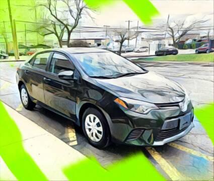 2016 Toyota Corolla for sale at Del Sol Auto Mart in Des Plaines IL