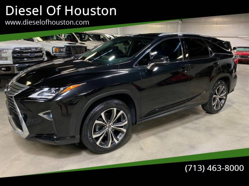 2019 Lexus RX 350L for sale at Diesel Of Houston in Houston TX