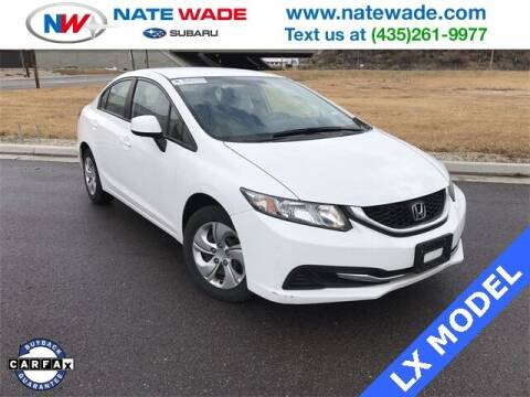 2013 Honda Civic for sale at NATE WADE SUBARU in Salt Lake City UT