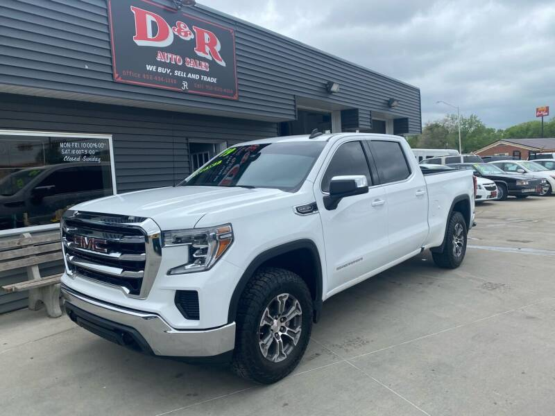 2019 GMC Sierra 1500 for sale at D & R Auto Sales in South Sioux City NE