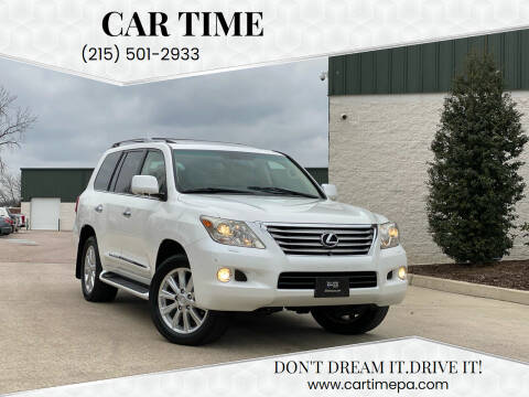 2009 Lexus LX 570 for sale at Car Time in Philadelphia PA