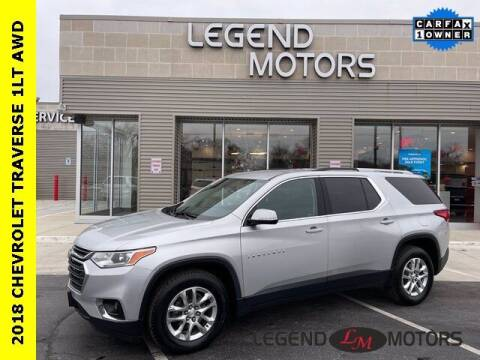 2018 Chevrolet Traverse for sale at Legend Motors of Waterford in Waterford MI