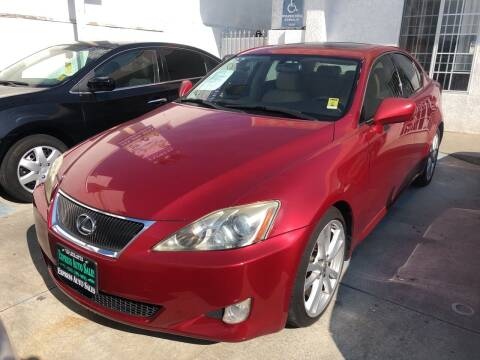 2008 Lexus IS 250 for sale at Express Auto Sales in Los Angeles CA
