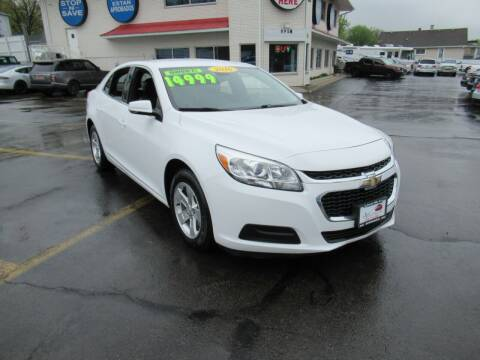 2016 Chevrolet Malibu Limited for sale at Auto Land Inc in Crest Hill IL
