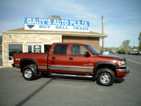 2006 GMC Sierra 2500HD for sale at GARY'S AUTO PLAZA in Helena MT