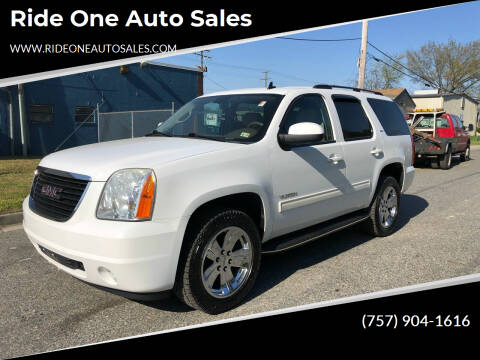 2013 GMC Yukon for sale at Ride One Auto Sales in Norfolk VA