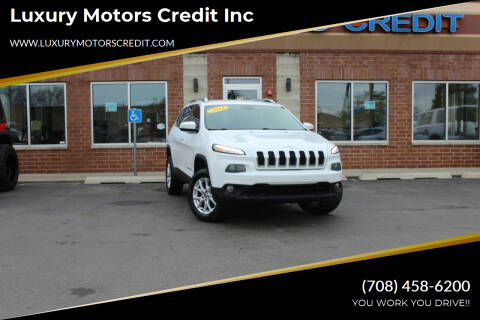 2014 Jeep Cherokee for sale at Luxury Motors Credit Inc in Bridgeview IL