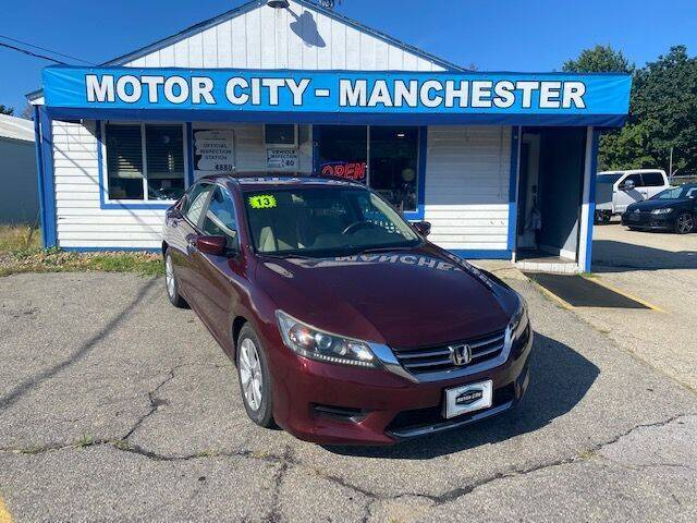 2013 Honda Accord for sale in Manchester, NH