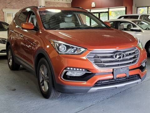 2017 Hyundai Santa Fe Sport for sale at AW Auto & Truck Wholesalers  Inc. in Hasbrouck Heights NJ