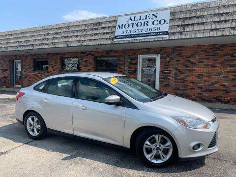 2014 Ford Focus for sale at Allen Motor Company in Eldon MO