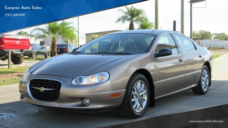 2002 Chrysler Concorde for sale at Carpros Auto Sales in Largo FL