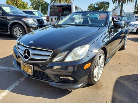 2011 Mercedes-Benz E-Class for sale at Convoy Motors LLC in National City CA