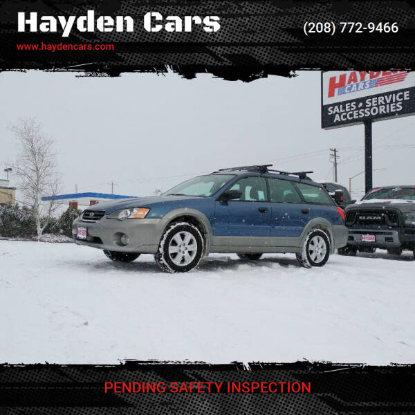 2005 Subaru Outback for sale at Hayden Cars in Coeur D Alene ID
