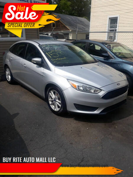 2015 Ford Focus for sale at BUY RITE AUTO MALL LLC in Garfield NJ