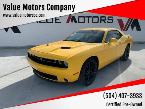 2017 Dodge Challenger for sale at Value Motors Company in Marrero LA