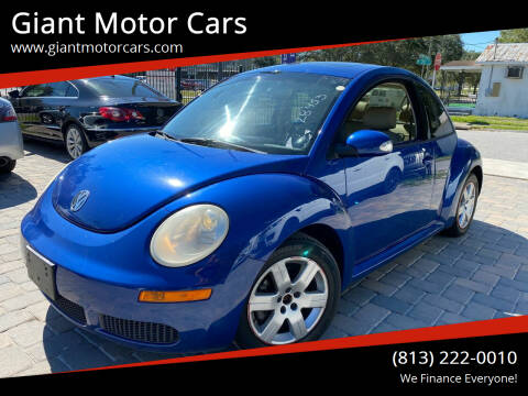 2007 Volkswagen New Beetle for sale at Giant Motor Cars in Tampa FL