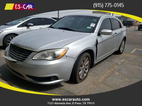 2011 Chrysler 200 for sale at Escar Auto in El Paso TX