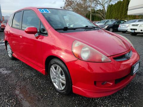 2008 Honda Fit for sale at Universal Auto Sales in Salem OR