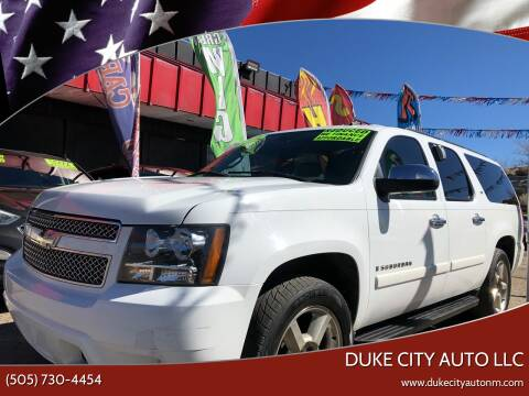 2007 Chevrolet Suburban for sale at Duke City Auto LLC in Gallup NM