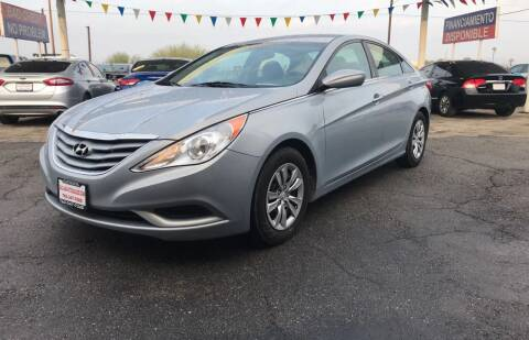 2012 Hyundai Sonata for sale at Salas Auto Group in Indio CA