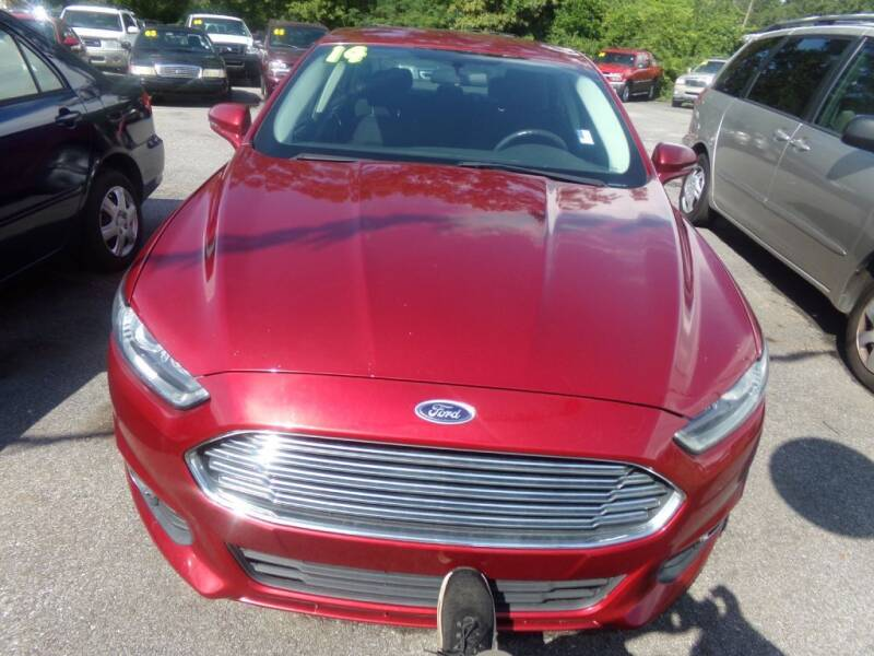 2014 Ford Fusion for sale at Alabama Auto Sales in Semmes AL