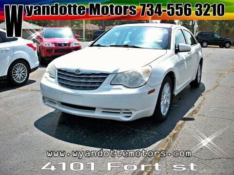 2009 Chrysler Sebring for sale at Wyandotte Motors in Wyandotte MI
