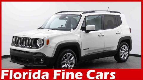 2016 Jeep Renegade for sale at Florida Fine Cars - West Palm Beach in West Palm Beach FL
