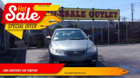 2009 Hyundai Elantra for sale at LONG BROTHERS CAR COMPANY in Cleveland OH