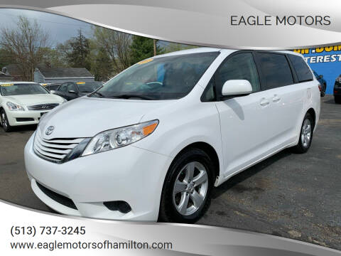2015 Toyota Sienna for sale at Eagle Motors in Hamilton OH