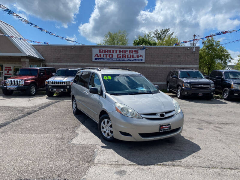 2008 Toyota Sienna for sale at Brothers Auto Group in Youngstown OH