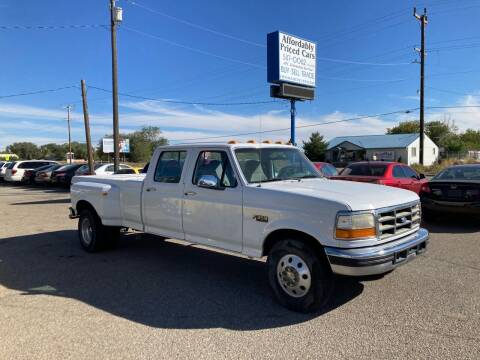 1996 Ford F-350 for sale at AFFORDABLY PRICED CARS LLC in Mountain Home ID