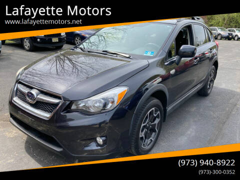 2013 Subaru XV Crosstrek for sale at Lafayette Motors in Lafayette NJ