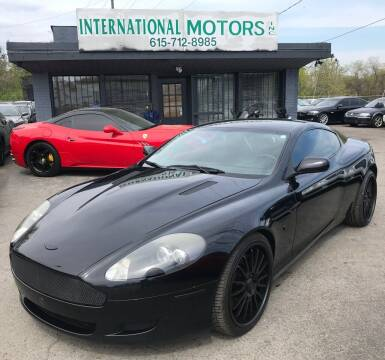 2005 Aston Martin DB9 for sale at International Motors Inc. in Nashville TN