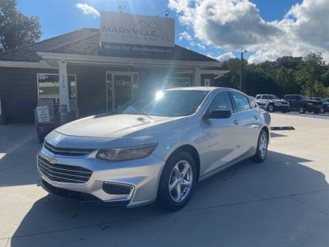 2016 Chevrolet Malibu for sale at Maryville Auto Sales in Maryville TN