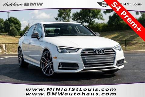 2018 Audi S4 for sale at Autohaus Group of St. Louis MO - 40 Sunnen Drive Lot in Saint Louis MO