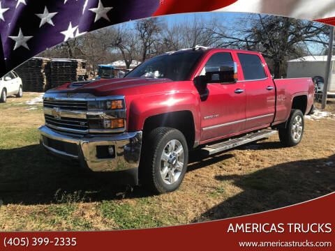 2019 Chevrolet Silverado 2500HD for sale at Americas Trucks in Jones OK